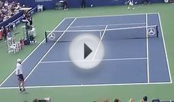Us Open 2012 John Isner vs Jarko Nieminen