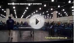 US Open Table Tennis 2011 Anti Spin Defensive
