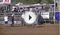 Utah High School Rodeo Association Bullriding, Morgan Utah