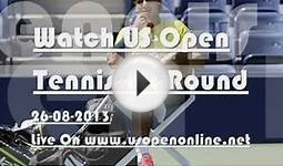 Watch Live US Open Tennis 2013 Day 5