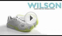 Wilson Rush Pro HC Tennis Shoes (For Women)