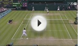 Wimbledon 2014 : Nadal Best Points TOP 30 - Grand Slam