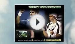 World Tour Masters Indian Wells Tennis on Tv - Isner Vs