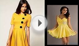 Yellow Dresses Clothing Shoes & Jewelry For Women Summer