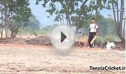 Yogesh Penkar Gharya Power Full Bat Swing In Tennis Cricket