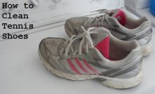 washing adidas tennis shoes