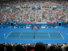 Watching Australian Open Tennis