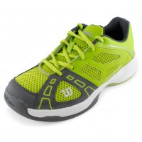 WILSON JUNIORS RUSH PRO 2 TENNIS SHOES GRN/GY